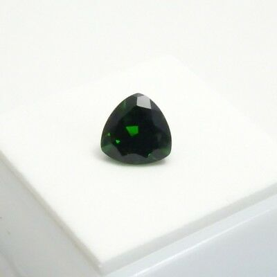 3.1ct Russian Chrome Diopside - 9mm Trillion - Chrome Diopside Loose Gemstone