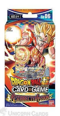 DragonBall Super Card Game - Starter Deck Resurrected Fusion :: Brand New And Se