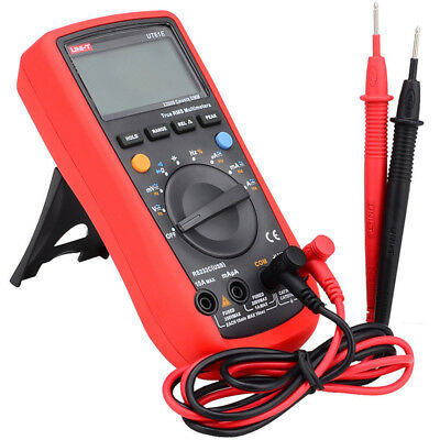 UNI-T UT61E RS-232 Digital Multimeter True RMS Frequency Current Meter Tester Hz