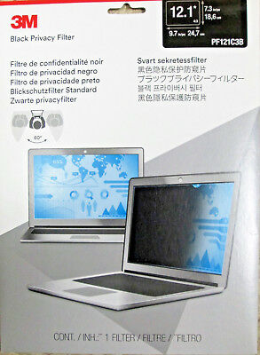 "3M Privacy Filter for 12.1"" Standard Laptop (PF121C3B)"
