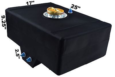 Racerdirect.net 15 Gallon Racing Fuel Cell With Sump D Ring Cap