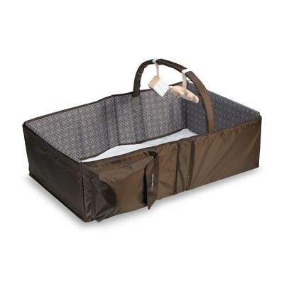 Eddie Bauer Infant Travel Bed With Detachable Toy Bar. Diaper Changing Station