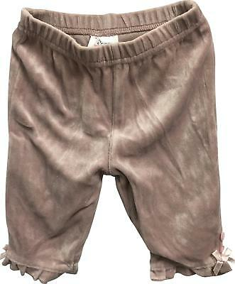 PRE-OWNED Girls Next Lilac Jogger Trousers Size 3-6 Months
