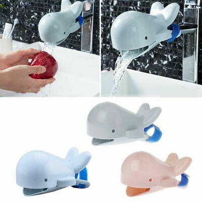 Lovely Animal Faucet Tap Extender Kids Baby Hand Washing Extension Tool