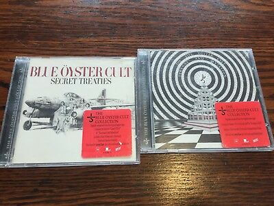 Blue Oyster Cult 2 CD Lot - Tyranny And Mutation & Secret Treaties