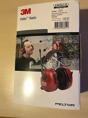3M Peltor FM-Radio Ear Defenders  Helmet Mounted  HRXS7P3E-01 Headset New Gift