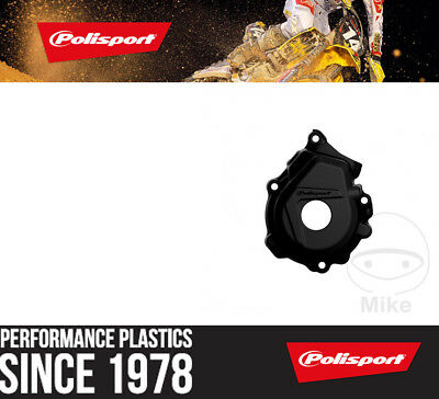Polisport Ignition Cover Protector - Black for Husqvarna Motorcycles