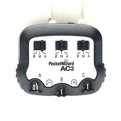 PocketWizard AC3 ZoneController with ControlTL for Canon