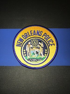 Brand New- New Orleans Police Patch