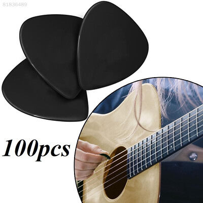 8BF1 Guitar Pick Black Guitar Picks Professional Plectrums 100Pcs Music