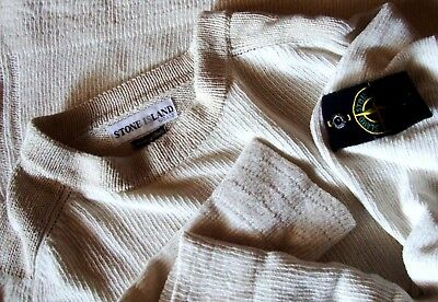 SWEATER cotton vintage STONE ISLAND  tg.M made in Italy  rare