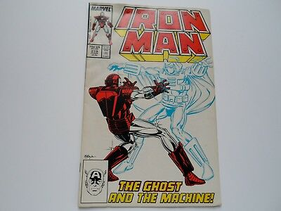 Iron Man 219 (1987) 1ST APPEARANCE GHOST (Ant-man & the Wasp Movie Villain)