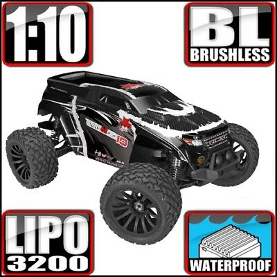 Rc Suv Terremoto 10 V2 Redcat Electric Monster Truck Radio Controlled 1/10 Black