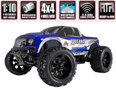 Rc Truck Volcano Epx Redcat Electric Monster Truck Radio Controlled 1/10 Scale