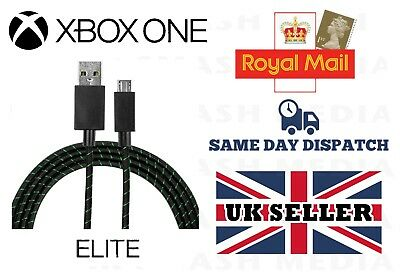 Official Genuine Xbox One Elite Controller Micro Usb Charging Cable 9Ft