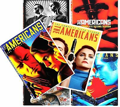 New The Americans THE Complete Series 1-6 Seasons 1-6 (1 2 3 4 5 6) DVD