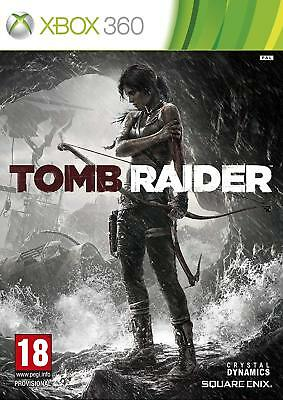 Tomb Raider Game Xbox 360 Microsoft Xbox 360 PAL Brand New FACTORY SEALED