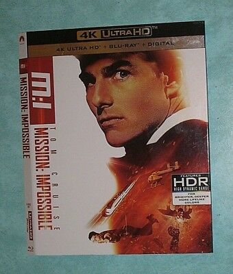 MISSION IMPOSSIBLE, MOONLIGHT, MOTHER, MUMMY, MURDER ON... 4K Blu ray slipcover