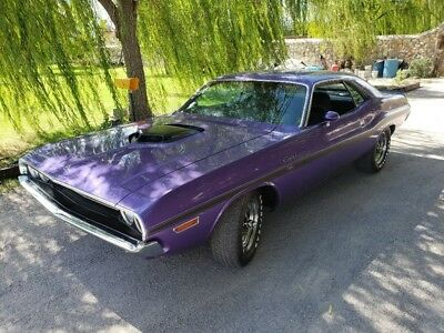 1970 Challenger -FRESH ROTISSERIE RESTORED - Purple Dodge Challenger with 0 Miles available now!