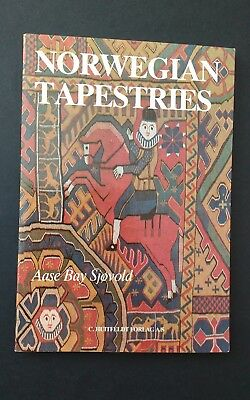Norwegian Tapestries by Aase Bay Sjøvold (1976, Paperback, Illustrated)