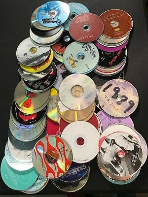 Assorted CDs Lot of 100 Different Types of Artists/Bands/Genres