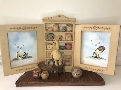 Charpente Classic Winnie the Pooh Disney Photo Picture Frame yellow hunny 100 ac