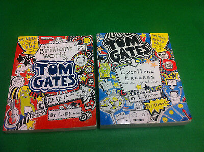 Tom Gates Collection 2 X Books