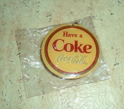 Have a COKE. Coca-Cola Keychain or keyring