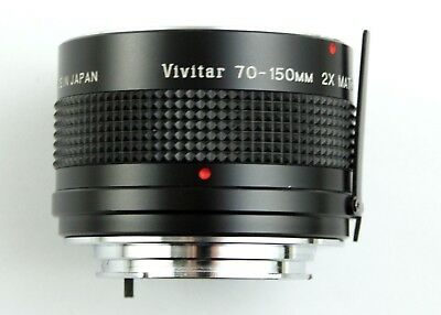 193694 Vivitar Matched 2x Multiplier for Vivitar 70-150mm Lens Minolta MD Mount