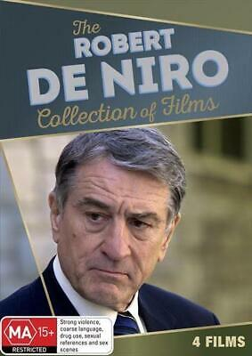 The Robert De Niro Collection of Films  (DVD 4 Films) Brand New Sealed R4