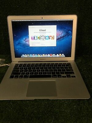 "Apple MacBook Air A1466 13.3"" Laptop - 1.8GHz i5 - 4GB - 128 SSD"
