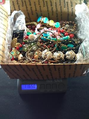 HUGE LOT! Vintage to Now JUNK DRAWER Jewelry Lot Estate 11.65  lbs