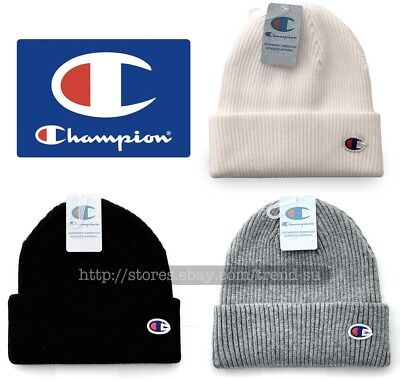 3f49f1a26dacc CHAMPION Embroidered Logo Beanie Knit Ski Winter Warm Hat Cap Unisex All  Color