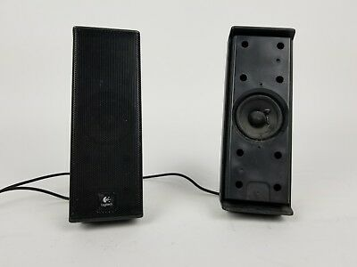 Logitech Square speaker - pid a749 - Black - Set of 2 - Free Shipping