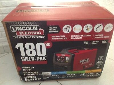 Lincoln Electric Weld Pak 180 HD - BRAND NEW -