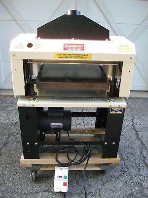 Woodmaster Power Planer Model # W-718
