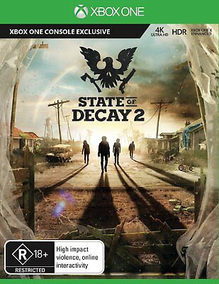 State Of Decay 2 Xbox One -4K UHD HDR- Like New