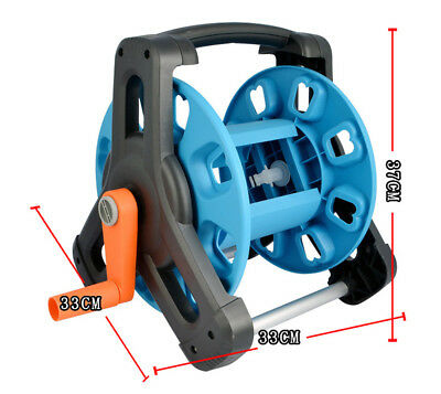 37x33x33cm Portable Garden Hose Reel Cart Outdoor Holder Water Pipe Planting AU