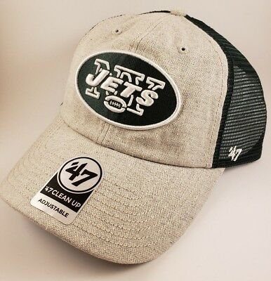 New York Jets Nfl Snapback Trucker Clean Up Slouch Dad Cap Hat Nwt!  47 8a70100a07ab