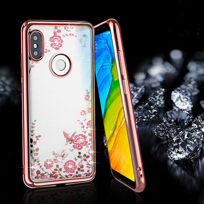 For Huawei Y7 Prime 2018 Y9 2019 P Smart Bling Slim Soft Silicone TPU Case Cover