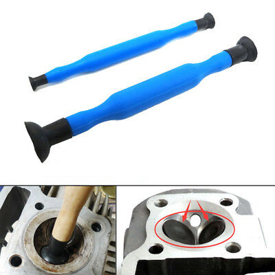 2pcs Valve Lapping Grinding Sticks Valve lapper tool with Suction Cups kit set
