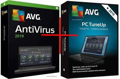 AVG AntiVirus + TuneUp 2019 - 1 PC or Laptop & for 1 year - DOWNLOAD VERSION