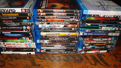 Blu-Ray Collection. 48 Films. Pick and Choose. Horror, Comedy, Drama, Arthouse.