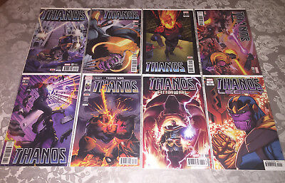 Thanos Full Run 13-18+Annual+Legacy Complete Set! Donny Cates Venom Cosmic Ghost
