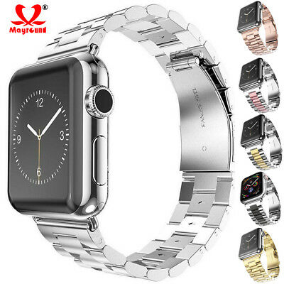 Stainless Steel Strap Link Bracelet for Apple Watch iWatch 1 2 3 4 38/40/42/44mm