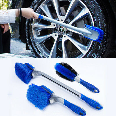 Multifunctional Car Tyre Tire Wheel Rim Hub Cleaning Brush Vehicle Body Cleaner