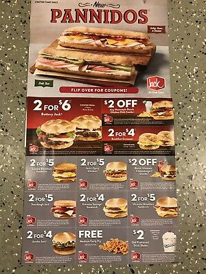 36 Jack In The Box Coupons-Burgers/chicken Sand./breakfast/shakes/combos+