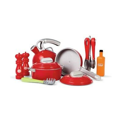 POTS AND PAN SET KIDS TOY Children Toy Pretend Role Play Utensils Present Gift