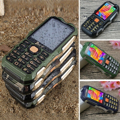 "2"" Handy DUAL SIM 2G GSM Mobile Phone Camera Loud Voice Old Man xmas Gifts"