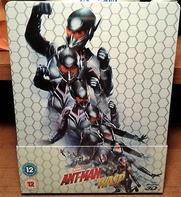 Ant-Man and the Wasp [Steelbook] [3D+2D Blu-ray] Brand New and Factory Sealed!!!